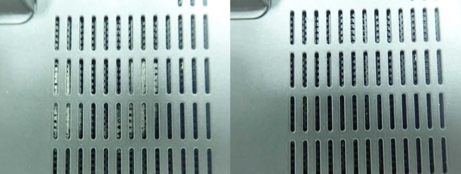 X270 CPUファン吸気口の掃除
