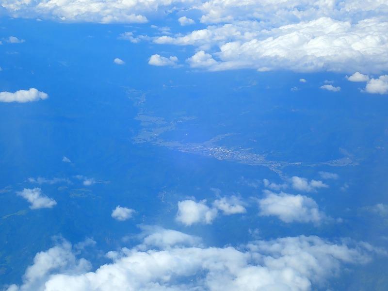 小国町航空写真