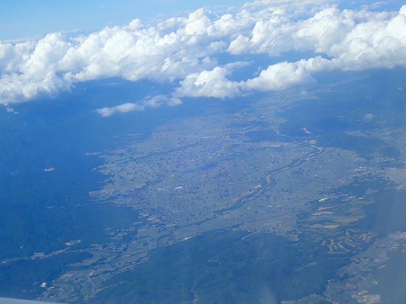 長井市航空写真